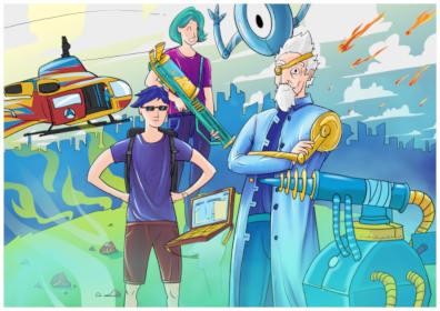 Rozwiązuj problemy związane z oszczędzaniem miasta za pomocą Fusion 360 CAD i symulacji fizyki! (14+ lat)